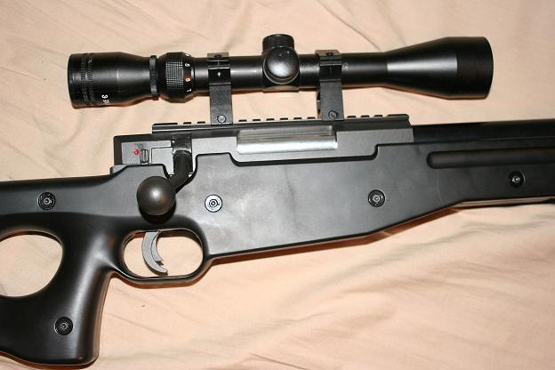 [Warrior  L96 type sniper OD]  +lunette 3-9x40mm+bi pied Photo_006_582